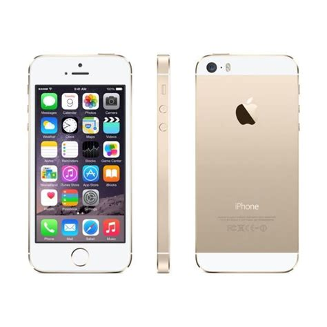iphone 5s prix neuf apple iphone 5s 16 go or reconditionne a neuf achat smartphone pas cher avis et meilleur prix