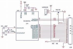 How To Interface Lcd With Pic16f877a Pic Advanced