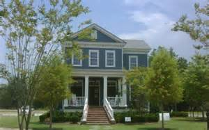 Exterior House Colors with Blue