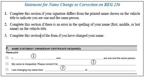 ct id application form how to complete a name correction on a certificate of