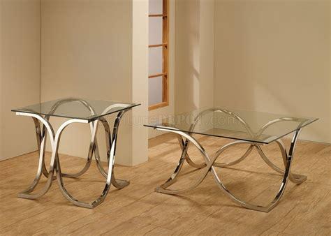coffee table pc set  coaster wglass top