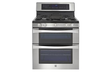Kenmore Elite 76033 6.1 Cu. Ft. Double Oven Gas Range W/convection Cooking How To Install Wood Stove Pipe In Garage Cap Off A Gas Line Stoves Arnold And Fireplace Center Apartment Size Propane Pellet Safety Switch Kitchenaid Owners Manual Quadra Fire Parts