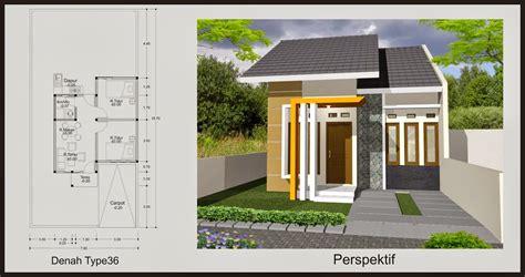 gambar desain rumah minimalis type     terbaru