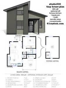 modern home plans studio500 modern tiny house plan 61custom