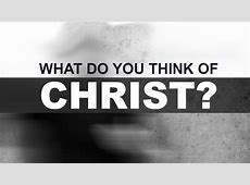 What Do You Think of Christ? Tim Conway I'll Be Honest