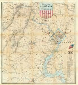 Civil War Battle Maps Virginia