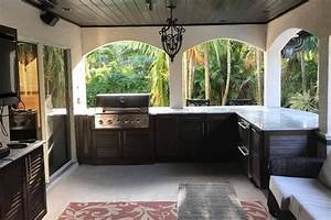 New Outdoor Kitchen Cabinets Installation In Melbourne Fl