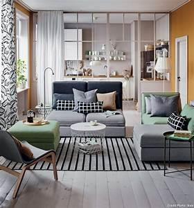 comment creer un salon cocooning et cosy 10 astuces With tapis de marche avec canapé tissu vert