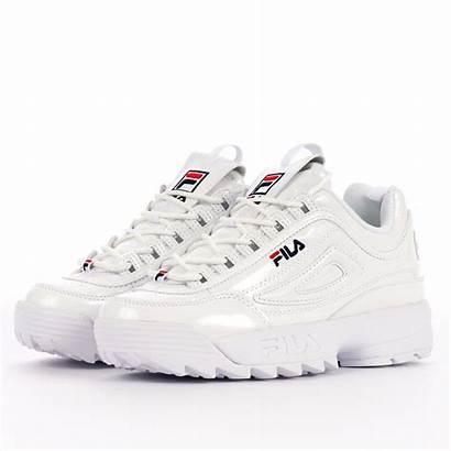 Fila Disruptor Premium Ii Patent Womens Sneakers