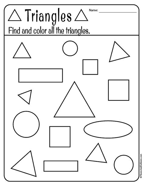 free printable shapes worksheets for toddlers and preschoolers 407 | shapes preschool 03