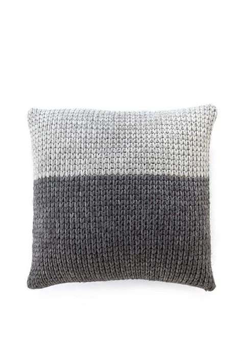 3 Metallic Knit Pillow Cover 24 Treasures by Sleep Well With Knitted Cushions Cottageartcreations