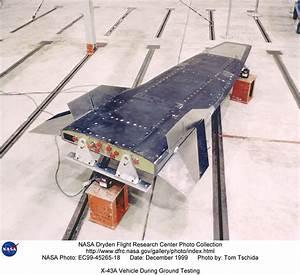 Hyper-X EC99-45265-18: X-43A Vehicle During Ground Testing