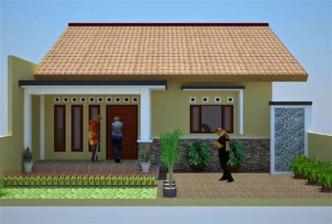 desain rumah minimalis  biaya  juta