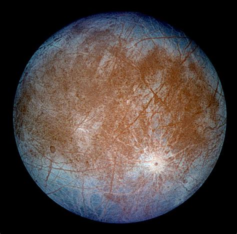Jupiter's icy moon Europa | Anne's Astronomy News