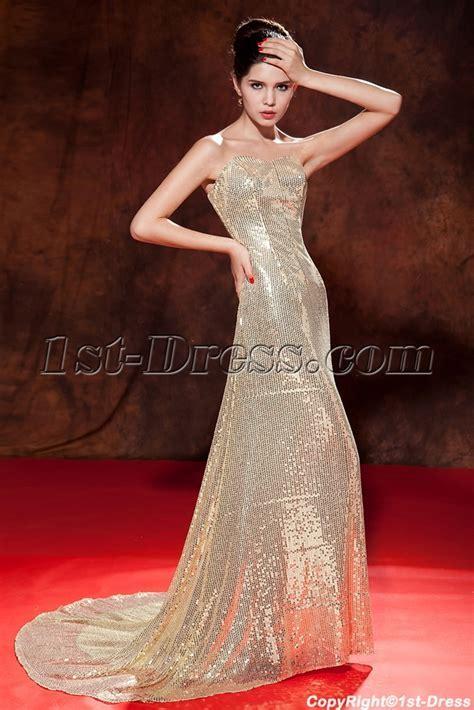Beautiful Gold Color Dress   Wedding & Quinceanera Dress