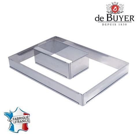cadre a patisserie extensible cadre a p 226 tisserie rectangulaire extensible inox de buyer maspatule