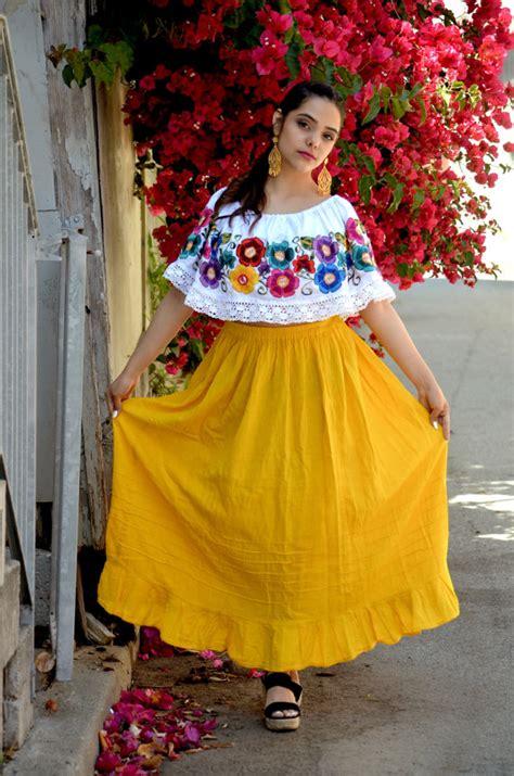 XLLMS Mexican Off Shoulder Peasant Top Blouse by Vtgantiques | MEXICANITOS | Pinterest | Off ...