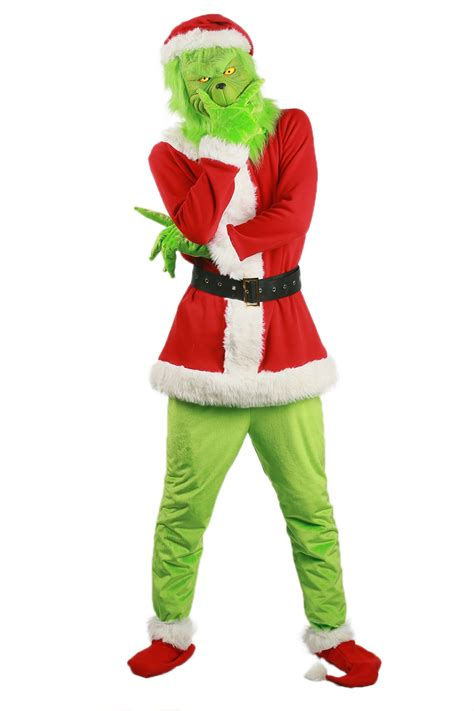 2017 Grinch Costume Movie How The Grinch Stole Christmas