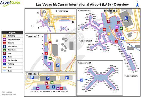 airport maps charts diagrams mc carran international