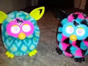 Furby Boom shows us his Peacock! - YouTube