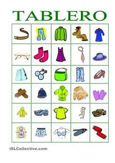 clothes  printable kindergarten worksheets english