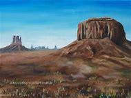 Monument Valley Landscape Oil Paintings