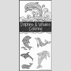 Dolphins And Whales Coloring Pages 1+1+1=1