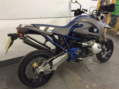Bmw Hp2 Enduro 1200gs Supermoto Rare Bike In Superb