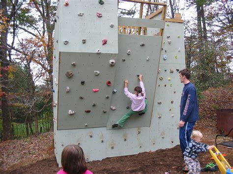 Ben's Backyard Climbing Wall