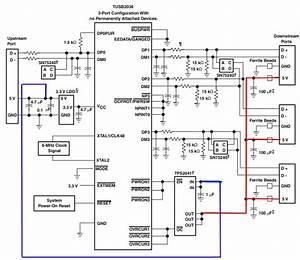 Power - Usb Bus Powered Hub - More Than 100 Ma Per Device