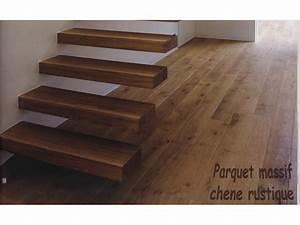 Marche Bois Escalier : marche d 39 escalier soutenu dans le mur ~ Voncanada.com Idées de Décoration