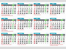 Tutorial Inkscape Membuat Kalender 2015 – Panduan BlankOn