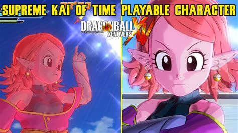 Dragon Ball Xenoverse PC Supreme Kai Of Time Playable Character W Gameplay MOD YouTube