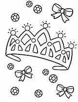 Crown Coloring Princess Diamond Template Tiara Pages Drawing Easy Royal King Heart Getdrawings Netart Library Medieval Comments sketch template