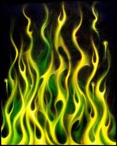 Green Gold Inferno by hardart kustoms, via Flickr Green ...