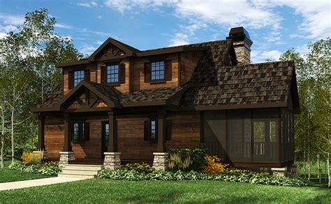 House Plans With Screened Porches by Cottage House Plan With Wraparound Porch By Max Fulbright