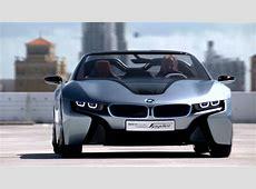 BMW i8 Concept Spyder Teaser YouTube