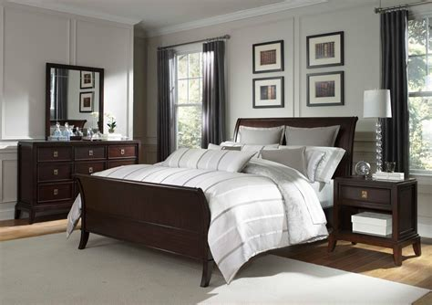 Bedroom Color Ideas Brown Furniture by Bedroom Furniture Cherry Wood Color Schemes Brown