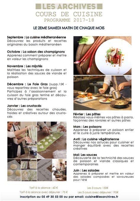cours de cuisine libanaise cours de cuisine poitiers 28 images cours de cuisine
