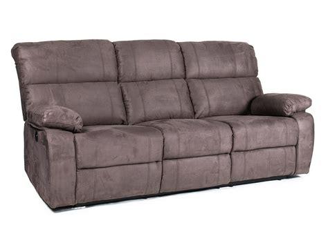 canapé 2 places relaxation électrique canapé en tissu microfibre 3 places 2 relax électrique