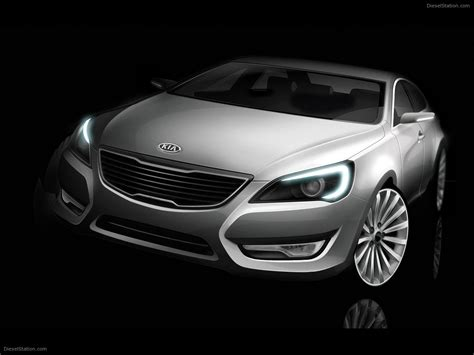 Kia Vg Concept Exotic Car Picture 01 Of 6 Diesel Station