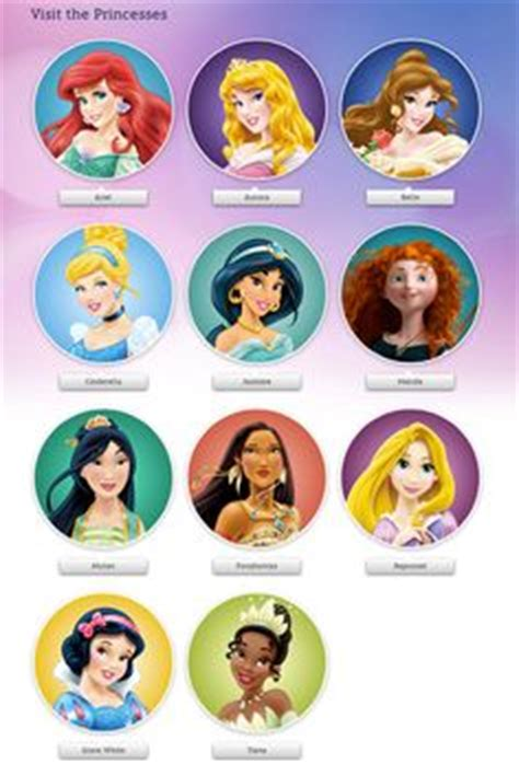 pin  crafty annabelle  disney princesses printables