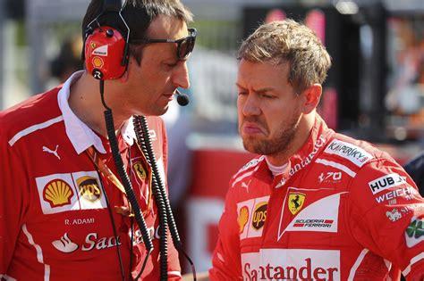 Vettel got into amateur karting at the age of 3½ years. De implosie van Sebastian Vettel, en dus ook van de ...