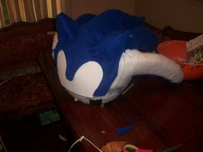 Sonic the Hedgehog Mascot Costume : 7 Steps (with Pictures ...