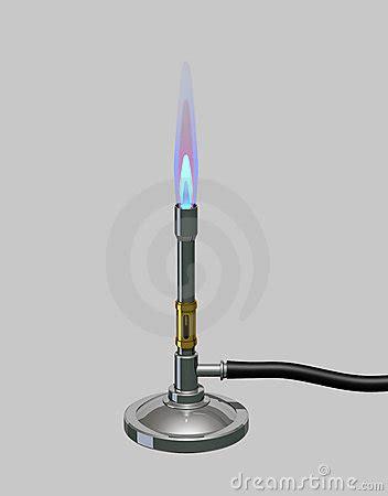 bunsen burner lit royalty free stock images image 1128439
