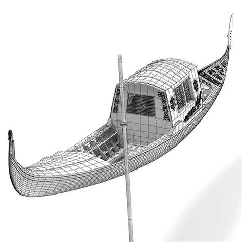 Gondola Boat Manufacturers by 3d Gondola Boat Model