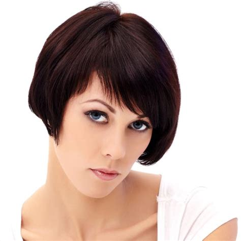 short hairstyles for thick hair hairstyle album gallery