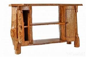 Möbel Aus Baumstämmen : hobbit kommode leo b 120 cm h 77 cm holzschrank aus baumst mmen unikat rustikale ~ Frokenaadalensverden.com Haus und Dekorationen