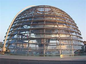 Beautiful Dome Of The Reichstag Building, Berlin