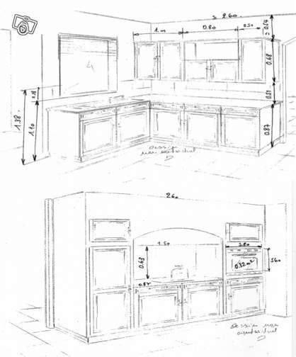 hauteur element cuisine meuble de cuisine hauteur idées de décoration intérieure